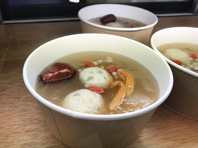 調理例:養生スープ